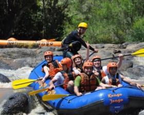 O Parque Kango Jango Rafting